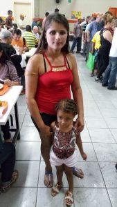 Janielza e filha